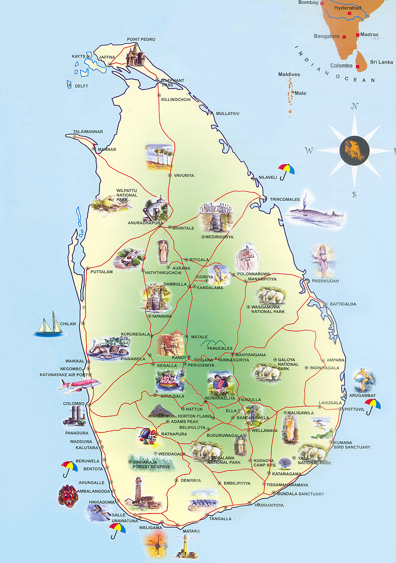 travel and tour locations in sri lanka